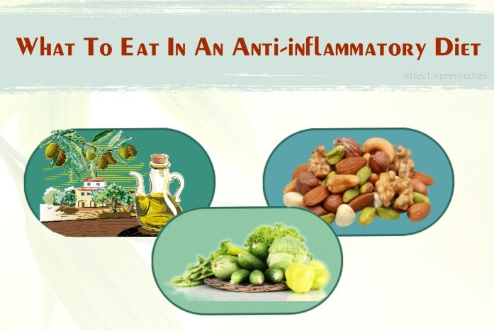 anti-inflammatory diet - what to eat in an anti-inflammatory diet