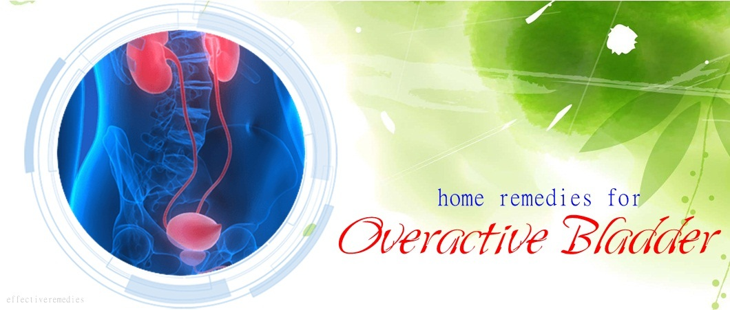 natural home remedies for overactive bladder