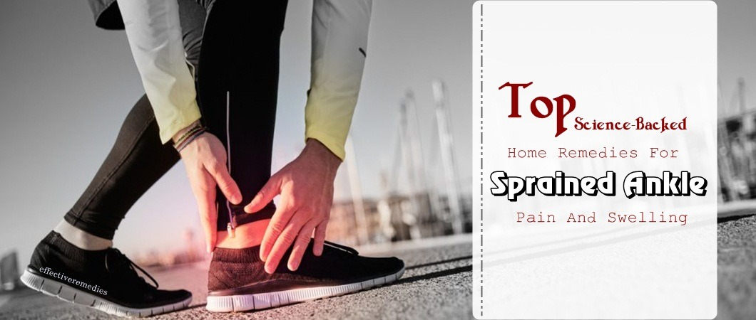 home remedies for sprained ankle swelling