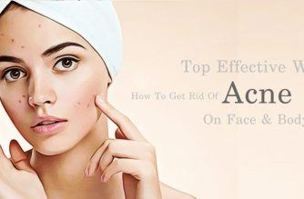 how to get rid of acne spots on face & body