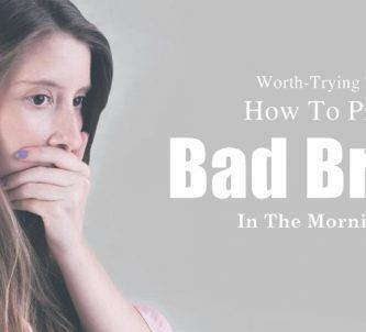 how to prevent bad breath in the morning