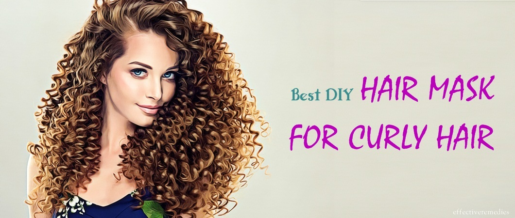 diy hair mask for curly hair