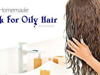 diy hair mask for oily hair