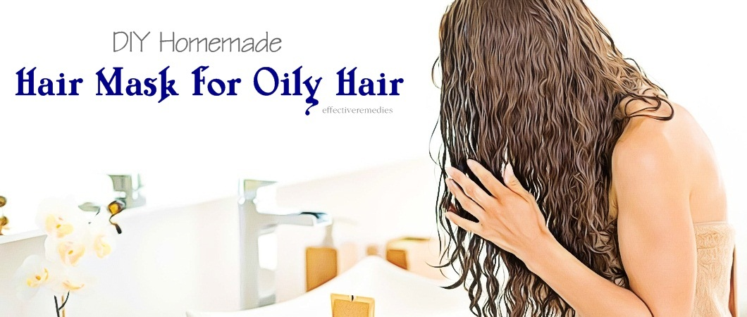diy hair mask for oily hair