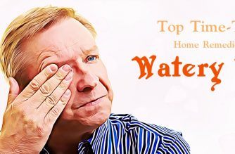 home remedies for watery eyes in babies