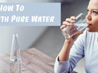 how to detox with pure water at home
