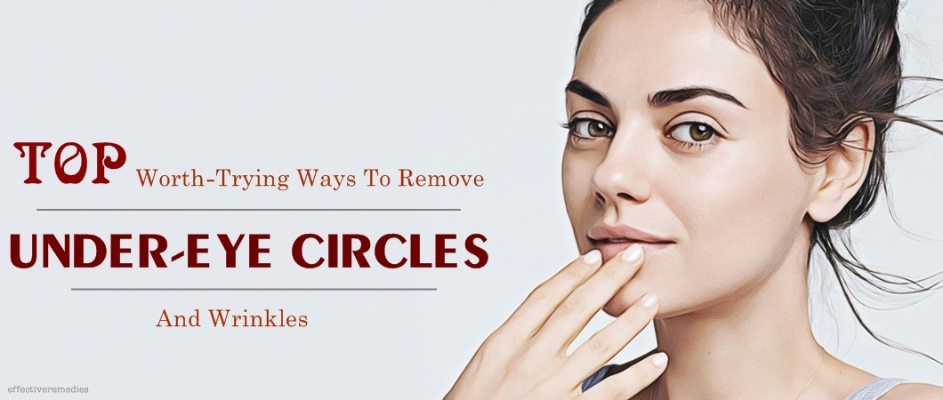 how to get rid of under-eye circles without makeup