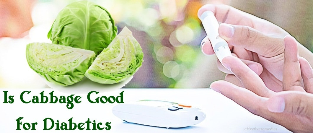 is cabbage good for diabetics? and how to use